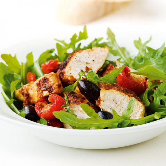 Chilli Pesto Chicken Salad from Sacla
