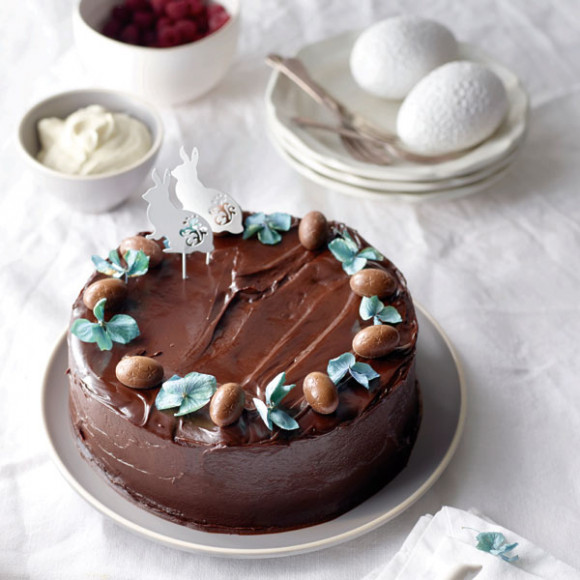 Chocolate Easter Mudcake