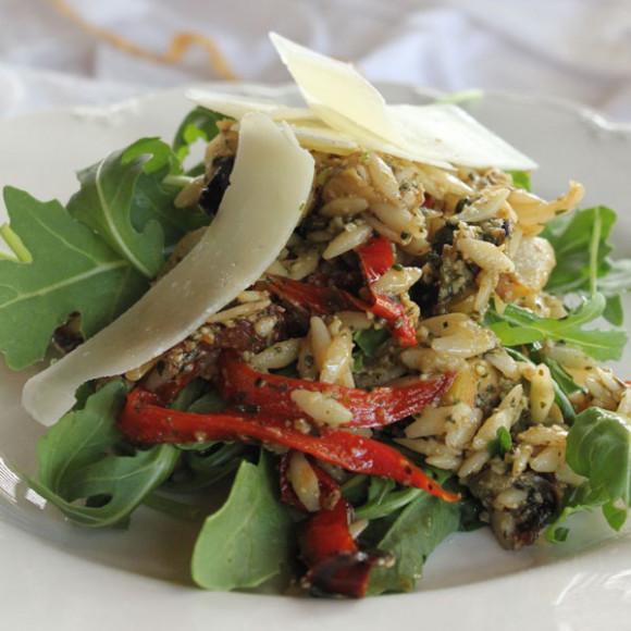 Italian Puttanesca salad