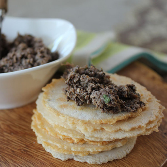 Mushroom and Walnut pate