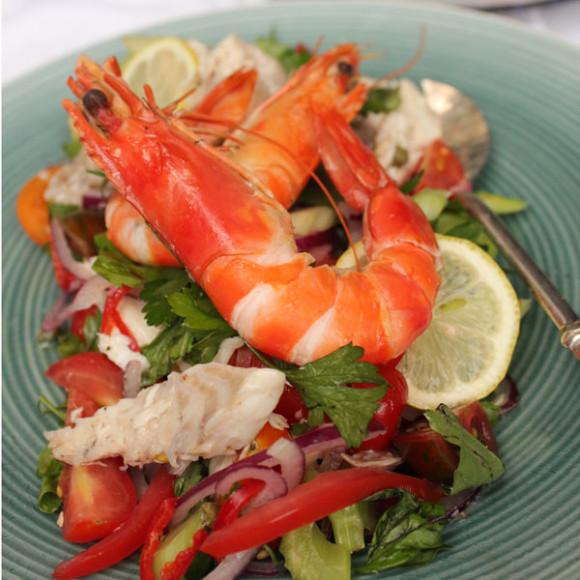 Poached Seafood Salad