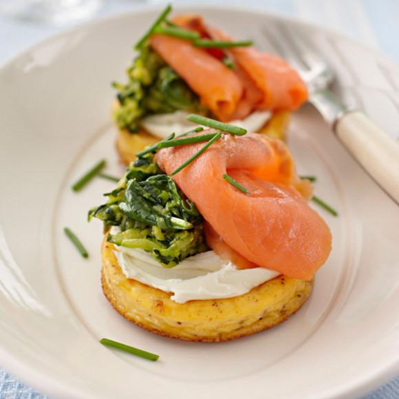 Smoked Salmon Omelette Recipe   myfoodbook   Kraft Kitchen ...