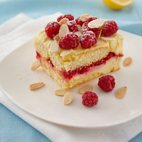 Lemon and Raspberry Tiramisu recipe using Philadelphia Cream Cheese