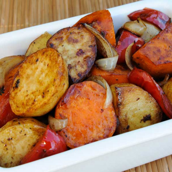 Balsamic Glazed Roasted Vegetables Recipe | myfoodbook