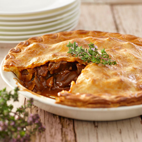 Chunky Beef Pie Recipe | myfoodbook | Make a cookbook with ...