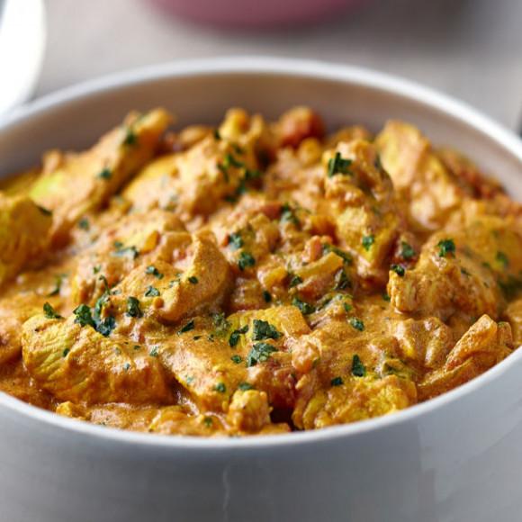 Creamy Malabar Chicken Curry with Fragrant Coriander Coconut Rice ...