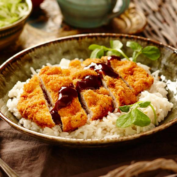 Japanese Pork Katsu with Homemade Sauce