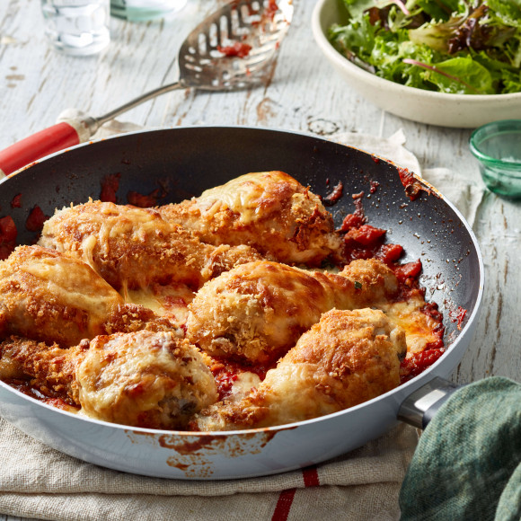 Chicken Parmigiana with Drumsticks