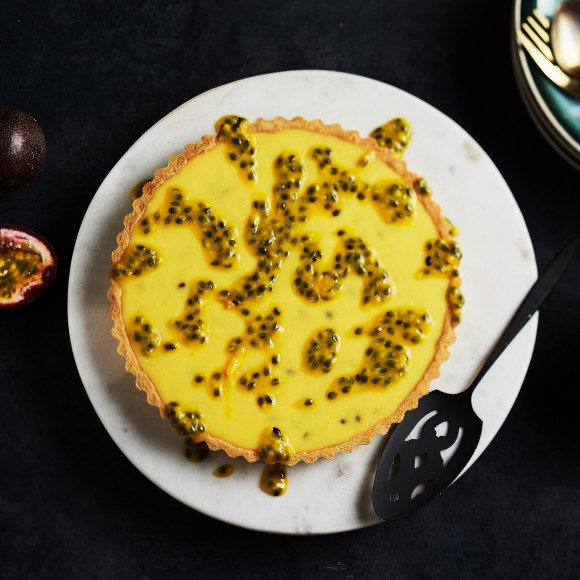How to make Passionfruit Tart