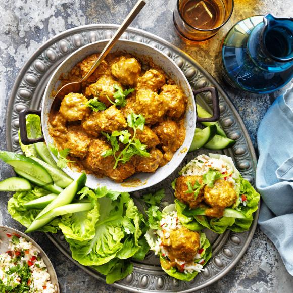 Easy Chicken Korma Recipe Myfoodbook Quick Chicken Korma Meatballs