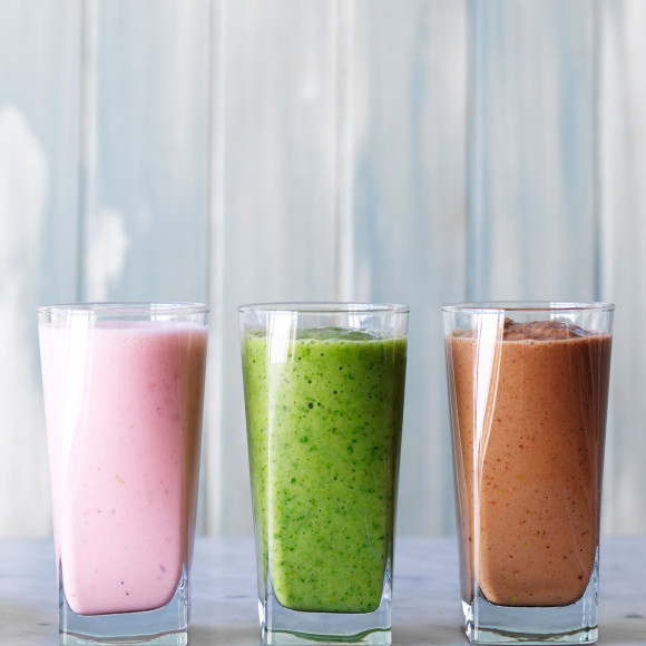 Pear smoothie - three ways