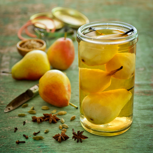 Pickled Spice Pears
