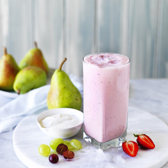 Pear And Strawberry Smoothie Recipe Myfoodbook