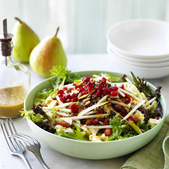 Pear and Super Grain Salad
