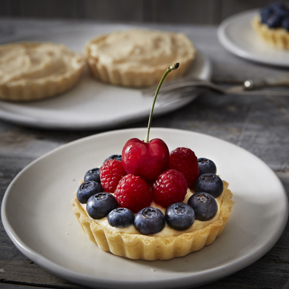 Mixed Fruit Tartlets