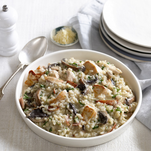 Chicken and mushroom risotto recipe myfoodbook easy for How do i make chicken risotto