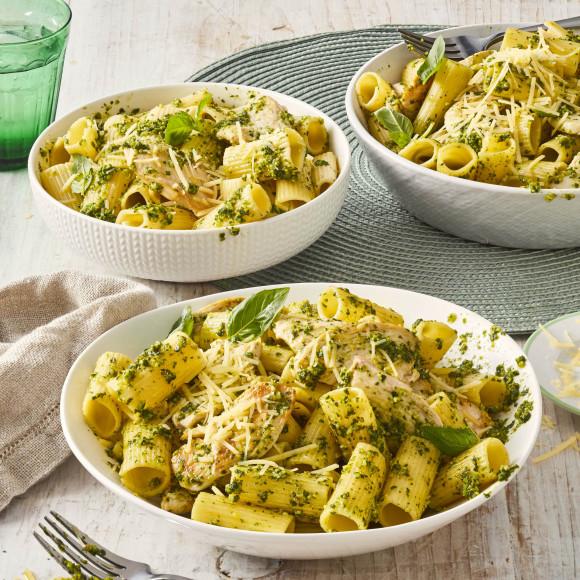 Chicken Pasta with Pesto recipe