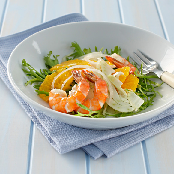 Prawn Salad with Fennel and Orange