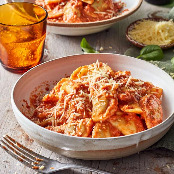 Easy vegetarian ravioli recipe