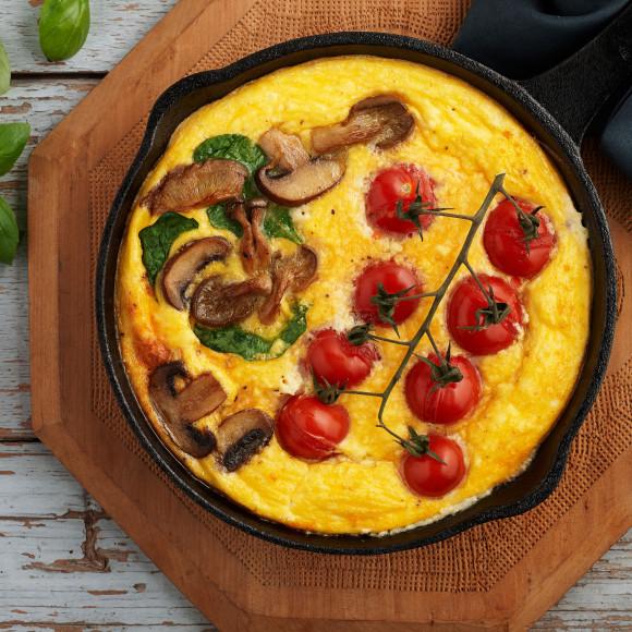 Easy Baked Ricotta Omelette recipe