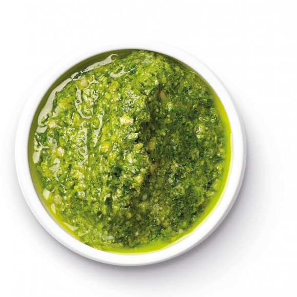 Easy Rocket and Almond Pesto Dip