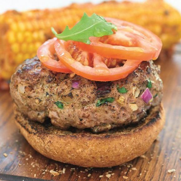 Homemade Lamb Burgers