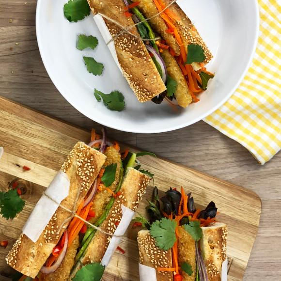 Fish Vietnamese Baguette