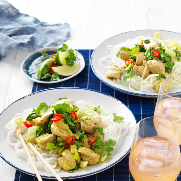 Lime, Lemongrass and Chilli Chicken Stir-Fry Recipe | myfoodbook