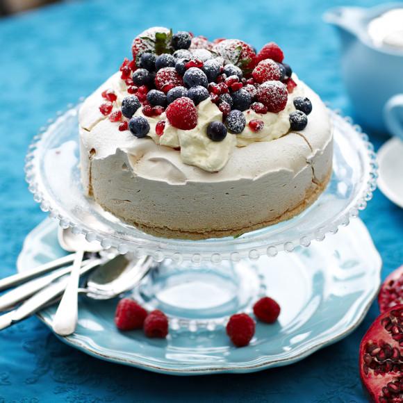 Vanilla Snow Cake Recipe