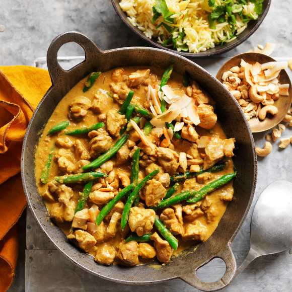 Coconut Chicken Curry Recipe
