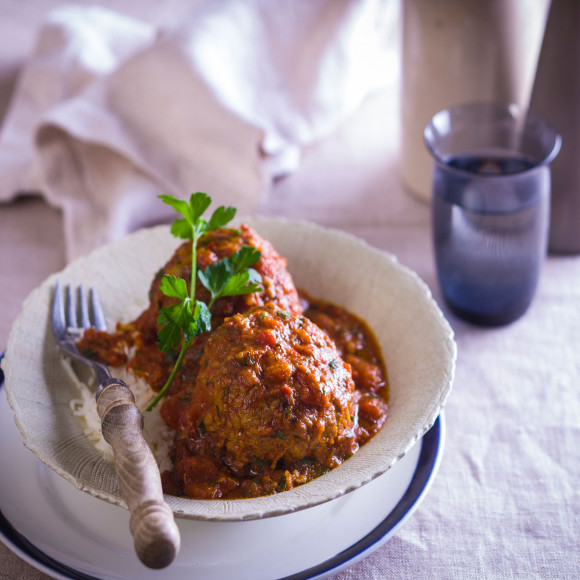 Turkey and Tomato Meatball Curry