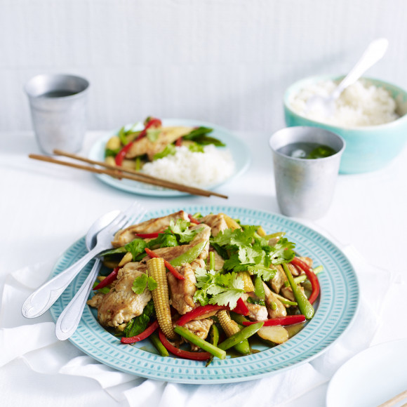 Asian Turkey Stirfry