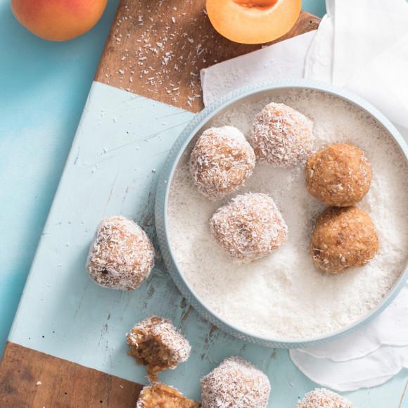 Easy Apricot Chia Bliss Balls recipe