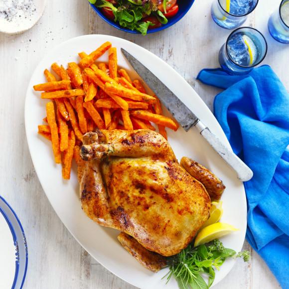 Summer Roast Chicken recipe