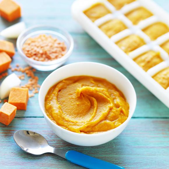 Lentil and Sweet Potato Puree
