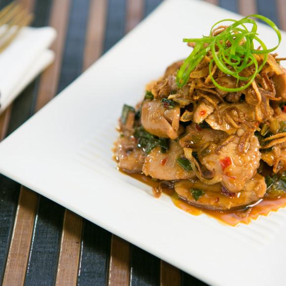 Thai Caramel Pork with Hot Chilli & Garlic