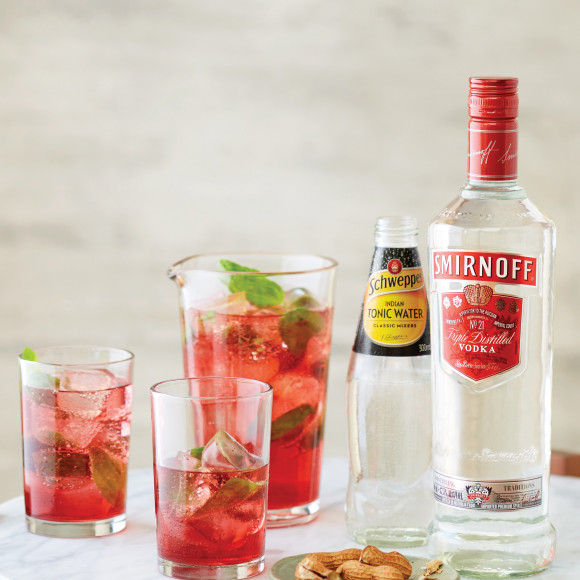 The Midnight Kiss Smirnoff Vodka Recipe