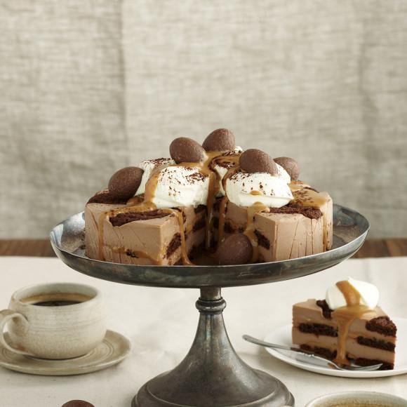 No-bake Chocolate Ripple Caramello Cheesecake Recipe
