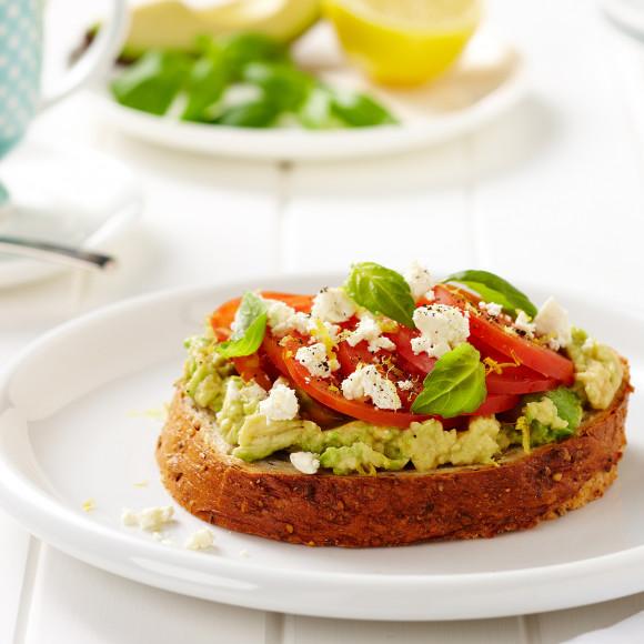 Avocado and Feta Toasts