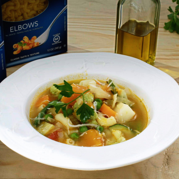 Peasant Style Minestrone Soup