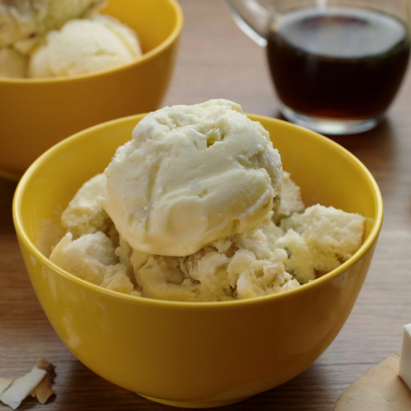 Roasted Apple and Coconut Jelly Ice Cream Recipe ...