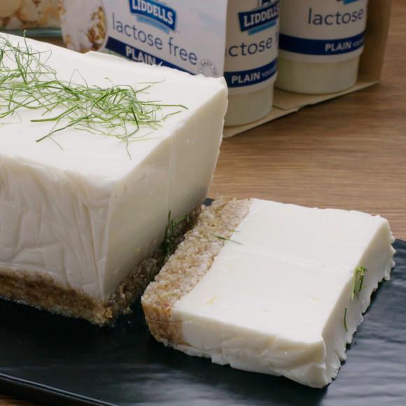 Yoghurt and Coconut Bavarois