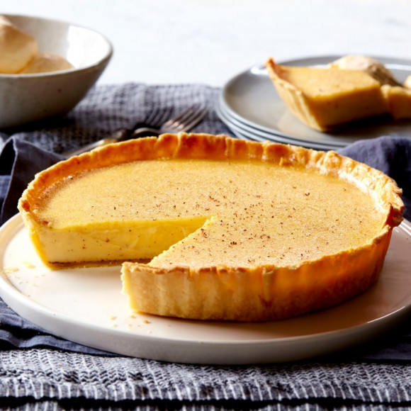 Traditional Custard Tart recip