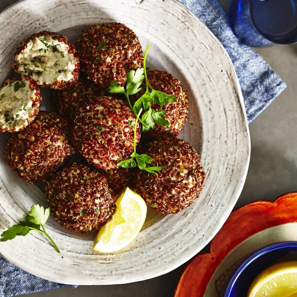 Healthy Turkey Kale Protein Balls Recipe