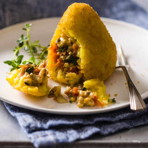 Arancini Recipe | myfoodbook | Turkey Mince Recipes