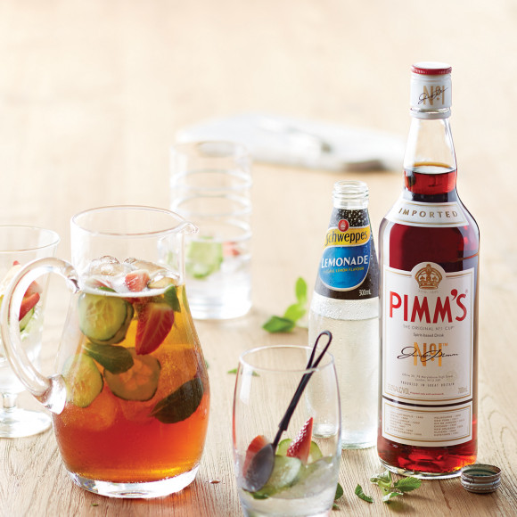 The Umpire's Chair Pimms Cocktail