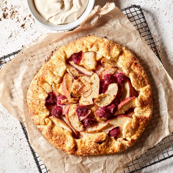 Crostata recipe with winter fruits recipe