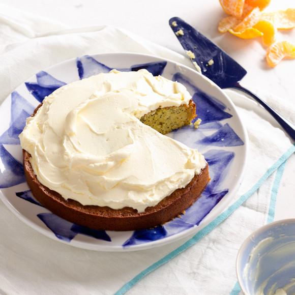 Orange and Poppyseed Cake