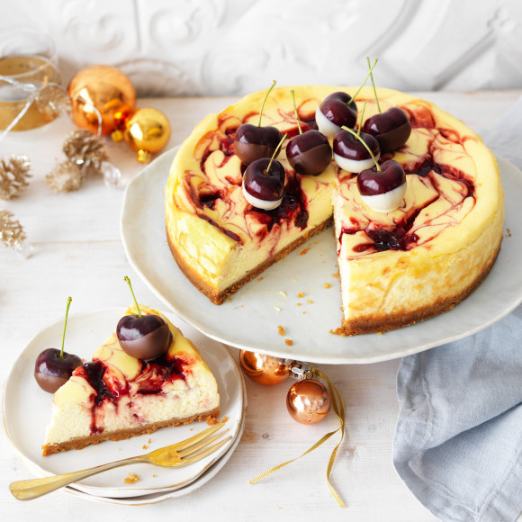 Baked Cherry Cheesecake recipe