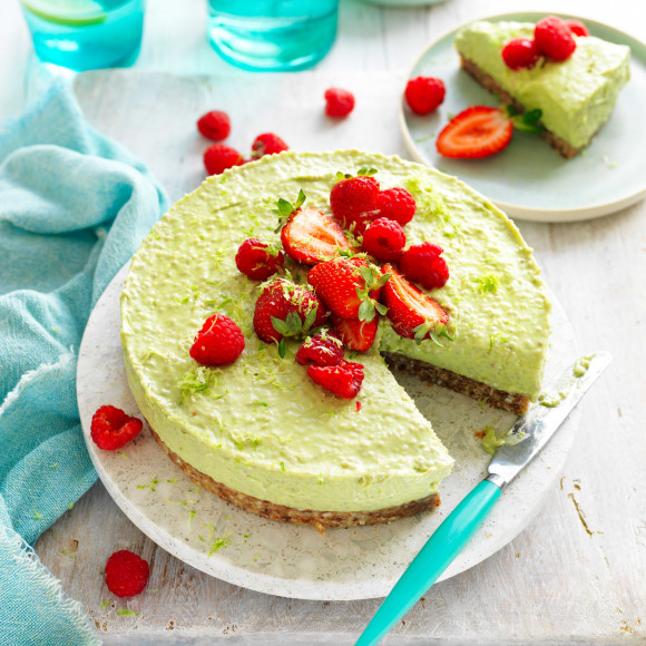 Vegan Avocado Cheesecake recipe